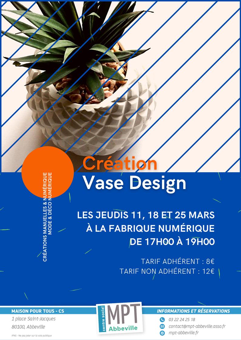 Mode & Déco : Création de vase design