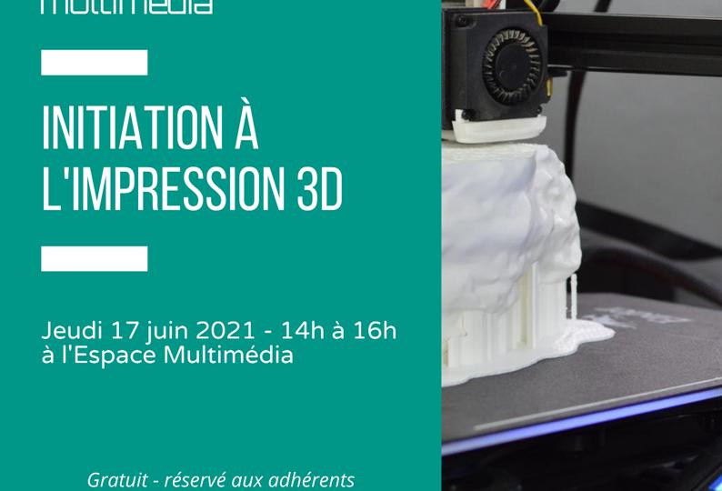 JDM - initiation à l'impression 3D