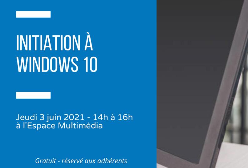 JDM - initiation à windows 10