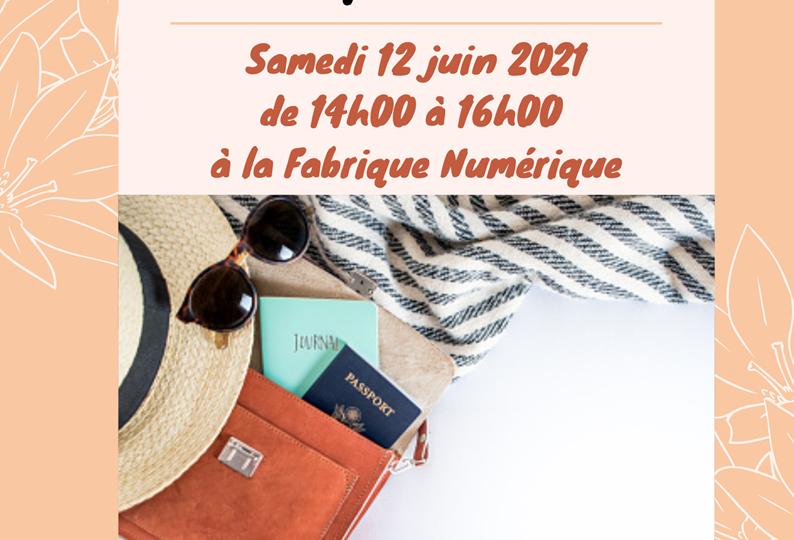 Mode & déco - initiation couture, création pochette d'été