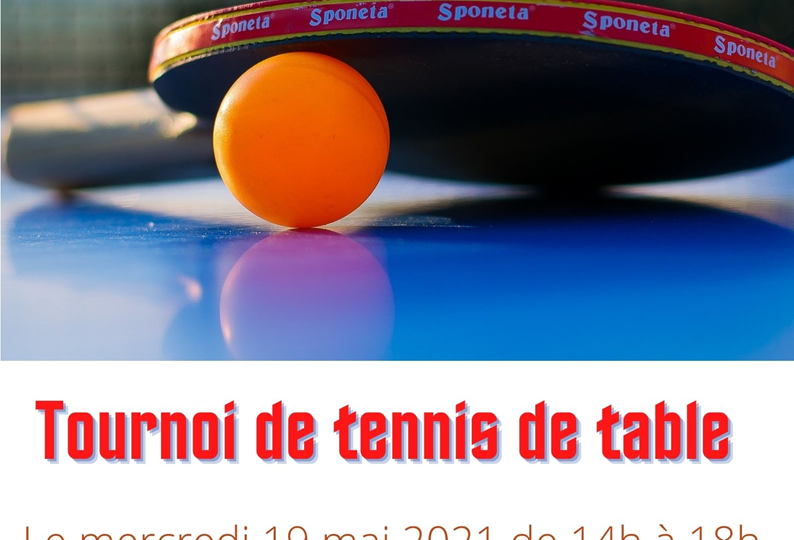Tournoi de tennis de table